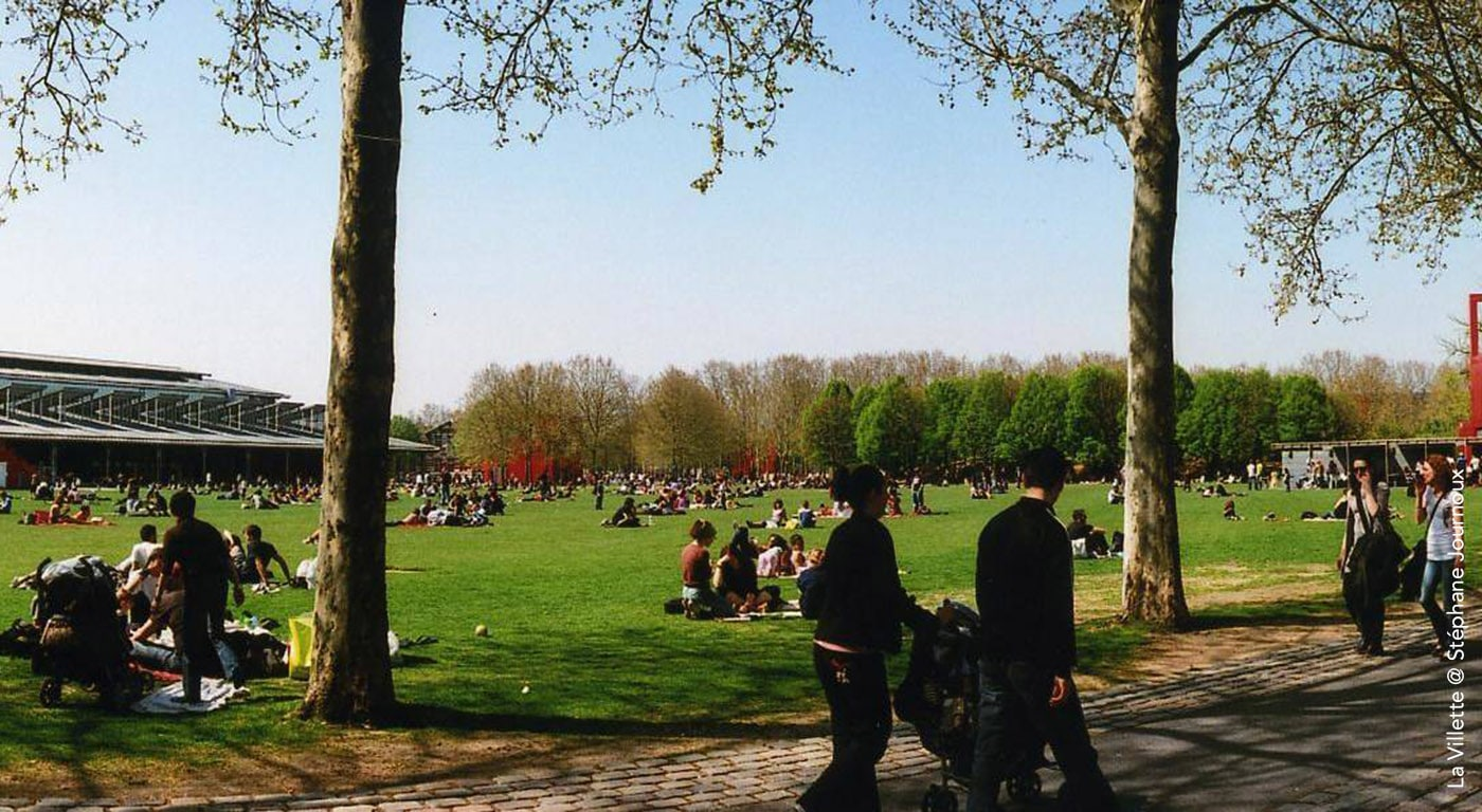 La Villette, Außenbereich