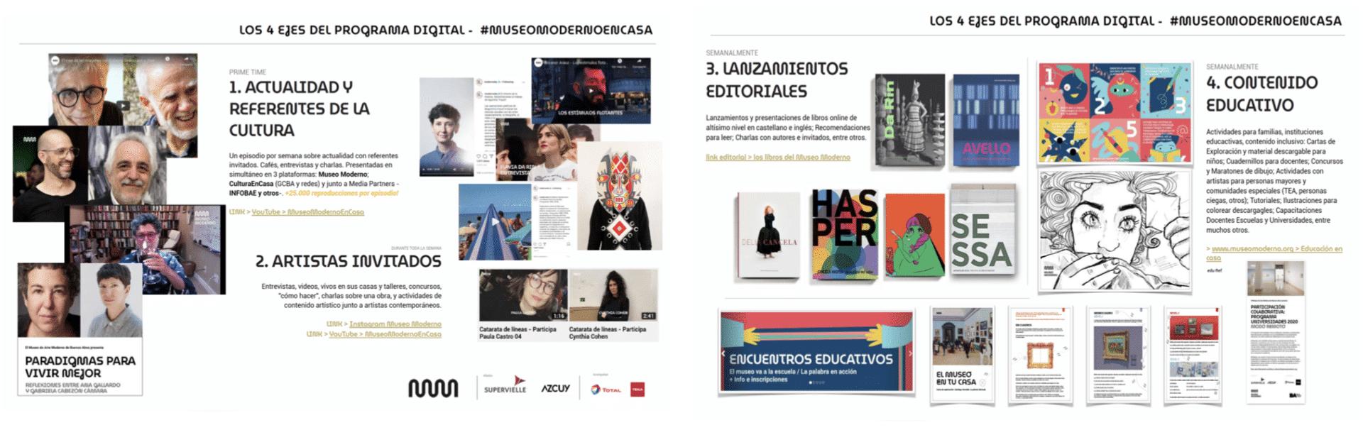 Digitales Programm von Museo de Arte Moderno, Buenos Aires