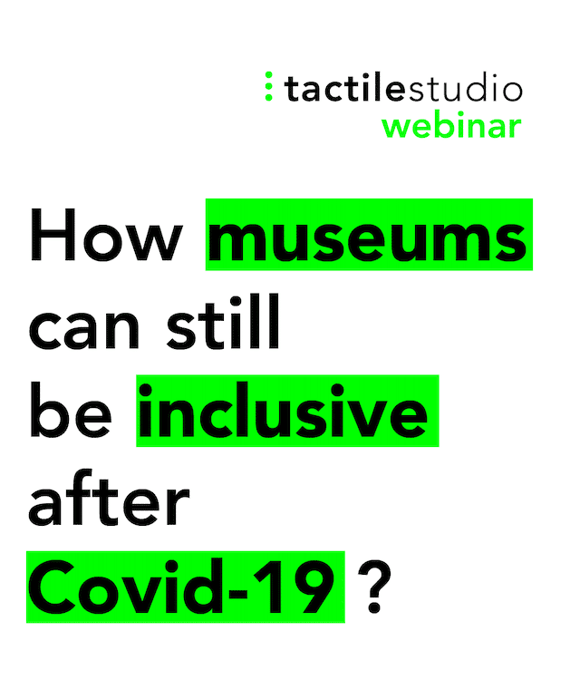 Webinar: how museums can still be inclusive after Covid-19?