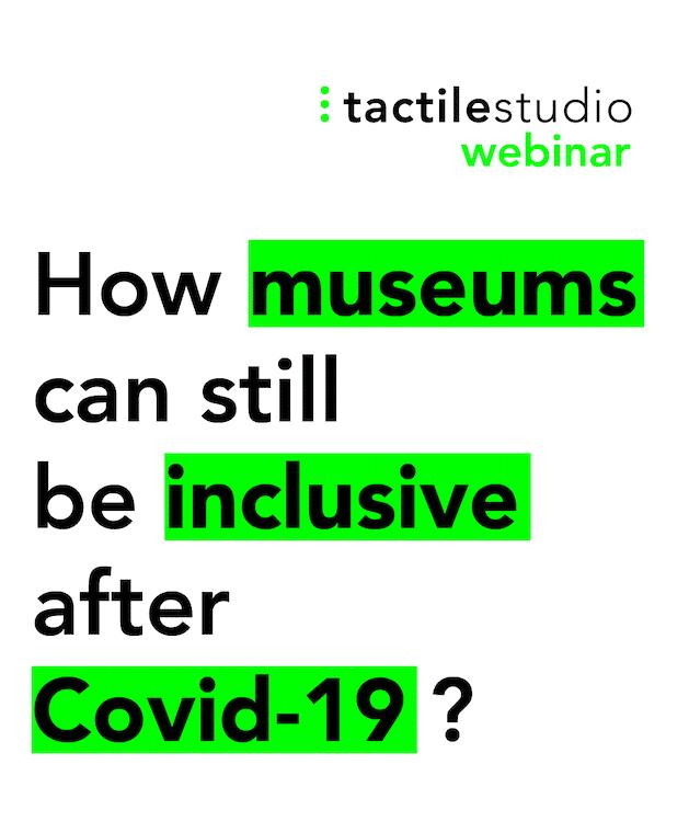 Webinar: Wie können Museen nach COVID-19 noch inklusiv sein?