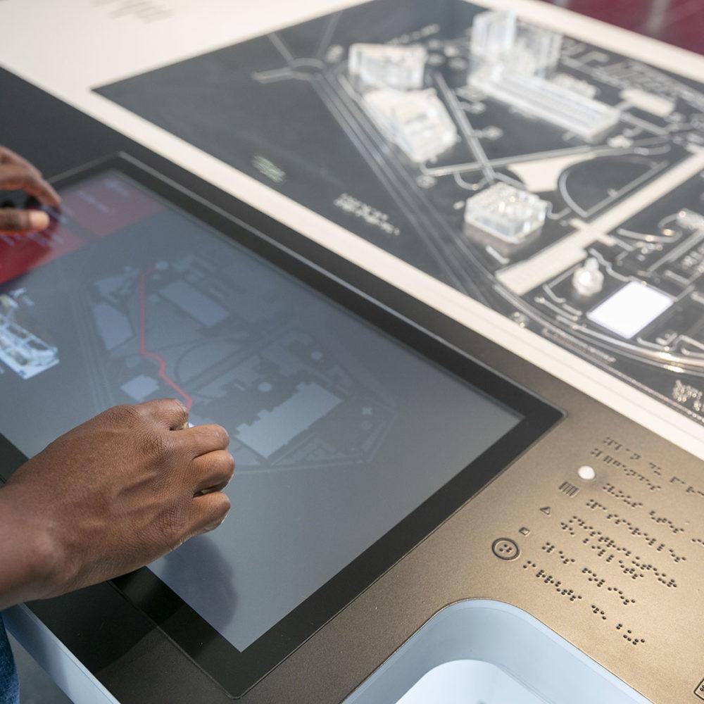 Interactive and inclusive station for the Parc de la Villette