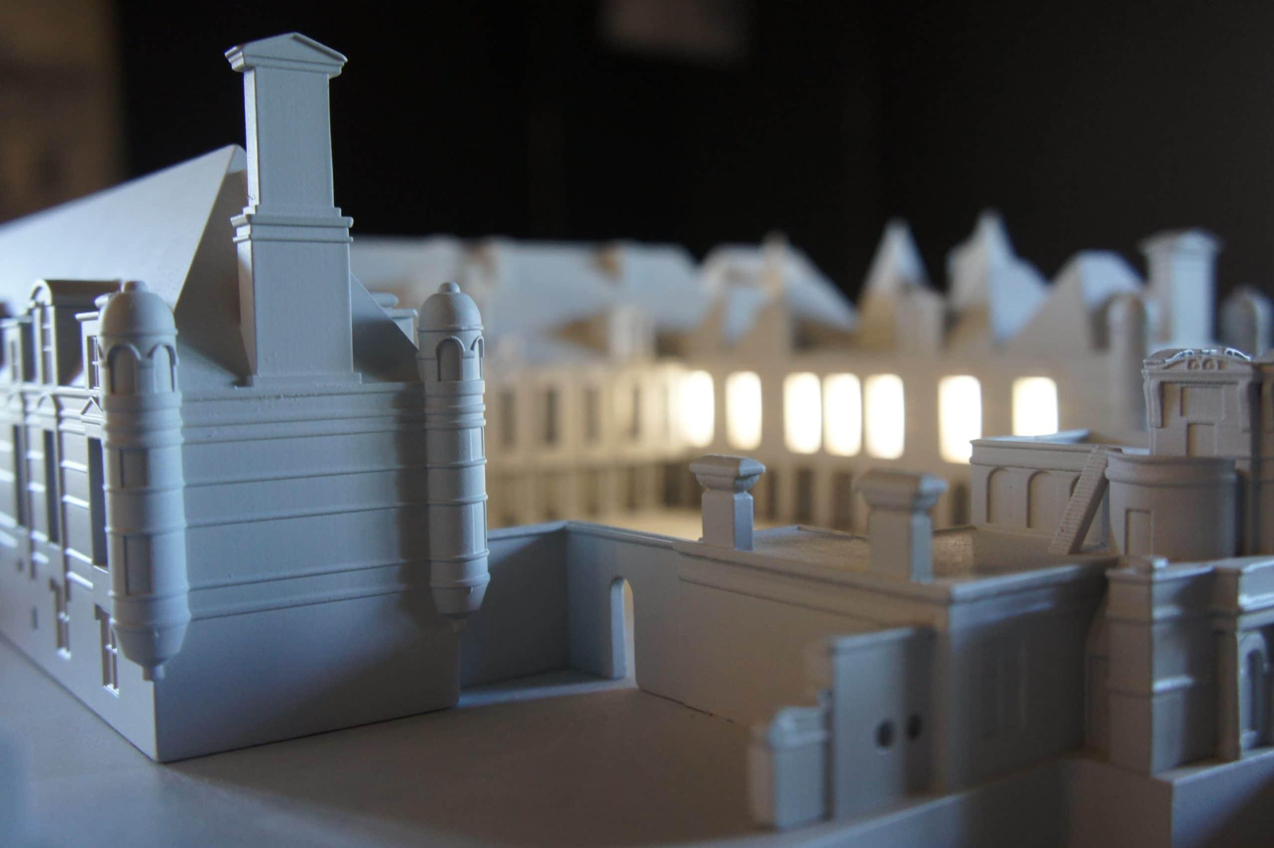 Maquette interactive Château d'Anet