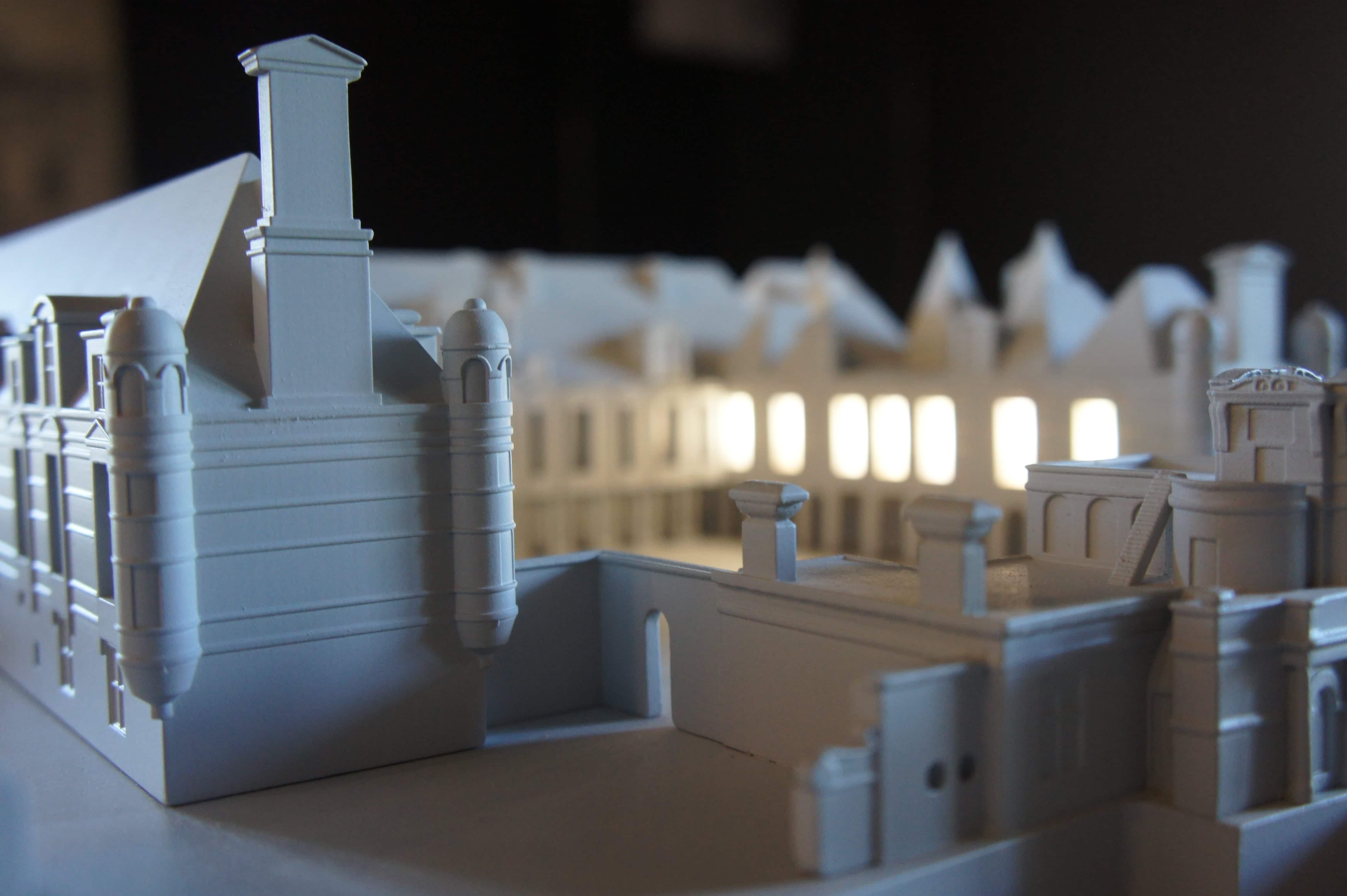 Château d'Anet interactive model