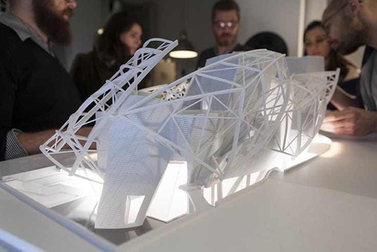 Maquette 3D Fondation Louis Vuitton