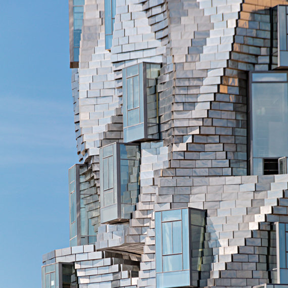The impressive Luma Tower by American architect Frank Gehry - © Tactile Studio